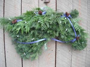 Horse Head Wreath 5