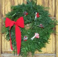 Canadian Ski Team Wreath