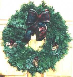 Highlander Wreath
