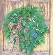 Hockey Wreath