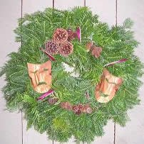 Theatrical Wreath