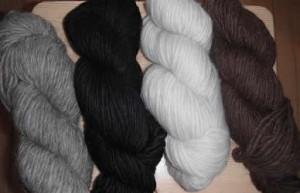 alpaca yarn skein